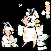 Squeak Ref *MYO Birdfolk* by beanlet