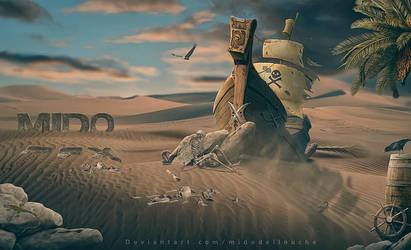 The harsh Desert by midodellouche
