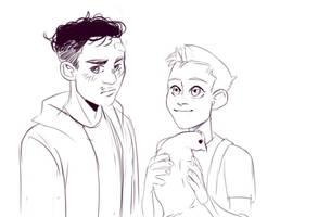 Jack Morrison and Gabriel Reyes by LollyDoom
