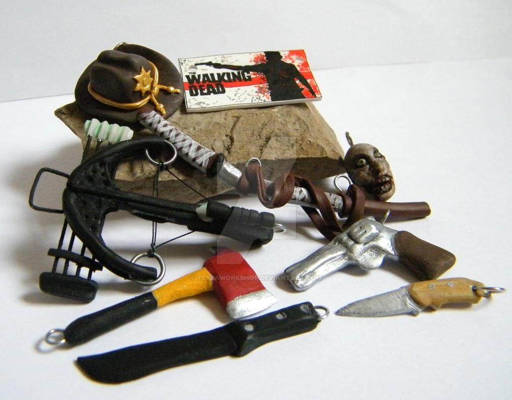 Minature Walking Dead Sword Letter Opener