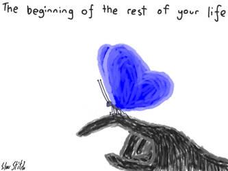 Colour Teaser Art - Butterfly