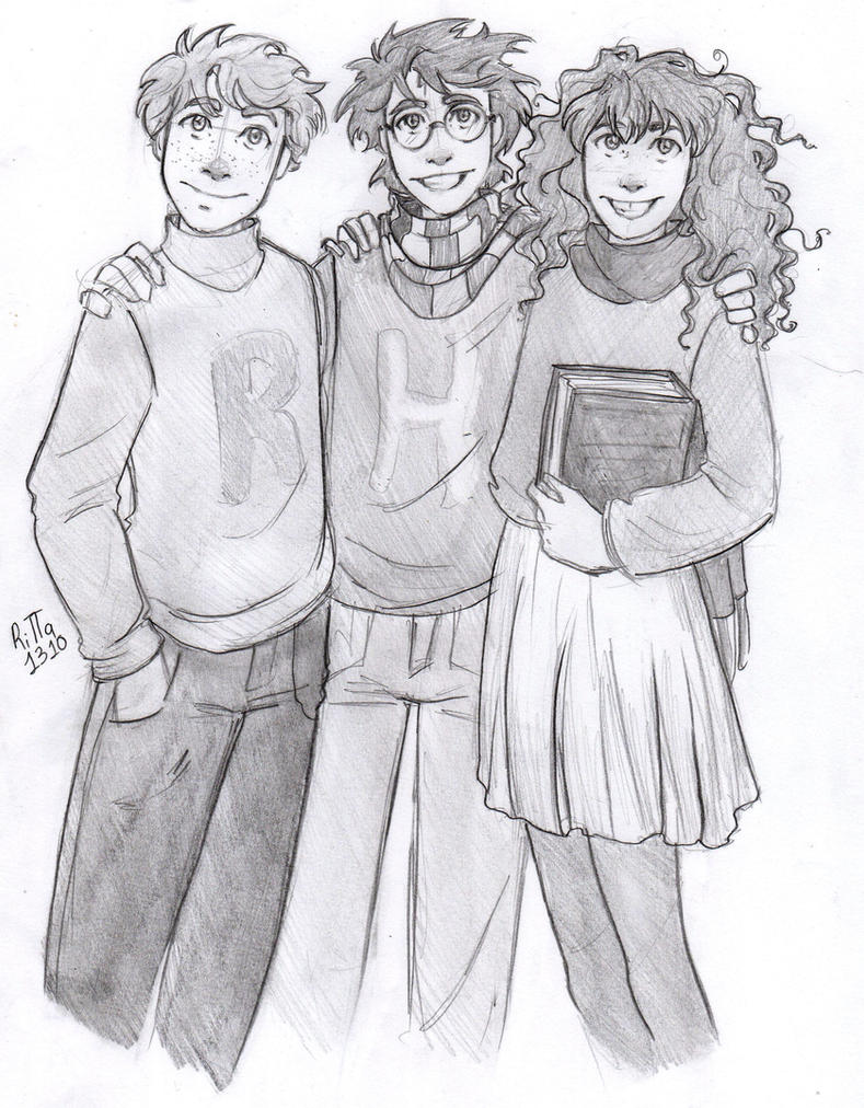 The Golden Trio by RiTTa1310