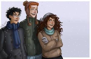 Winter Trio by RiTTa1310