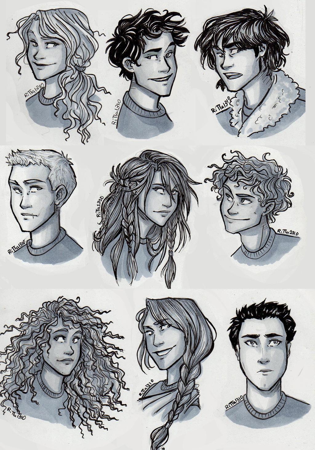 Heroes of Olympus by RiTTa1310