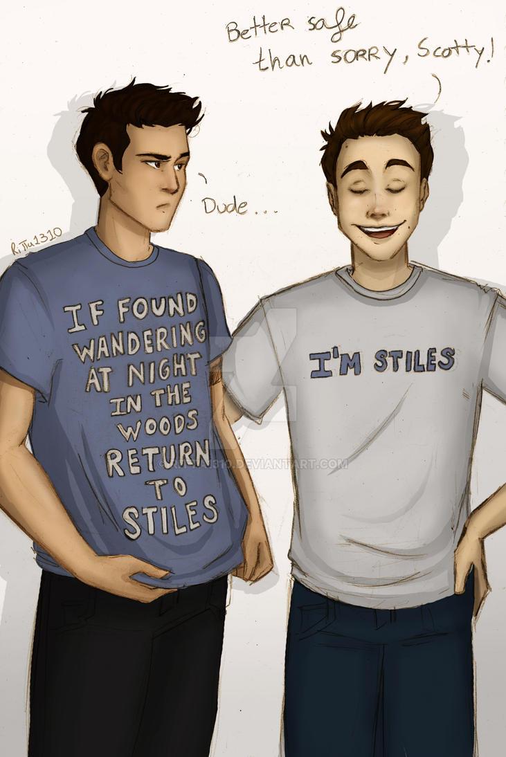 Stiles and Scott by RiTTa1310