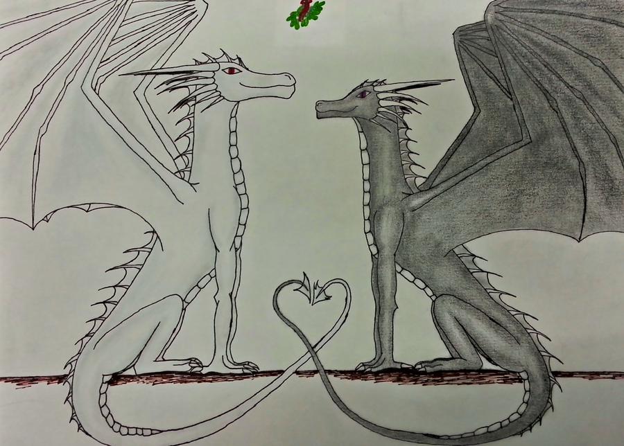 Secret Santa: Dragon-Wolf-Lover by Shakkara1