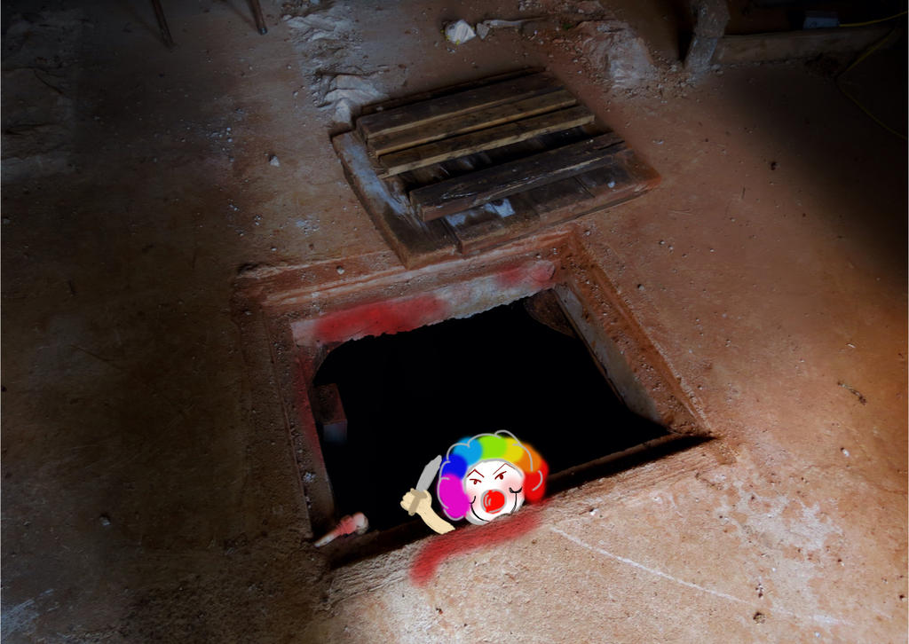What's coming out of this hole? by blackburhf on DeviantArt