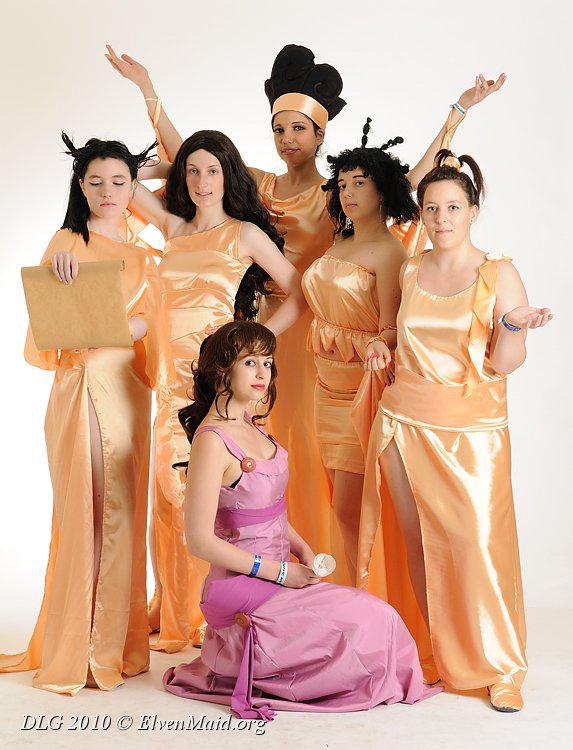 Muses by darkff666