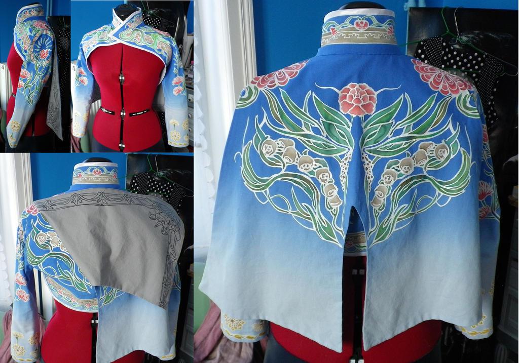 Ming Numara - WIP3 - Finished jacket by darkff666