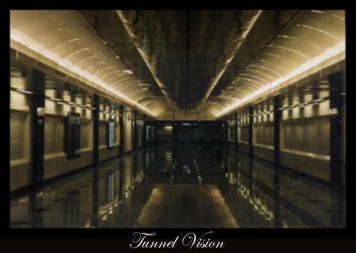 Tunnel Vision Farrer Park MRT by invader-riz