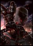 Mikasa vs Warhammer Titan
