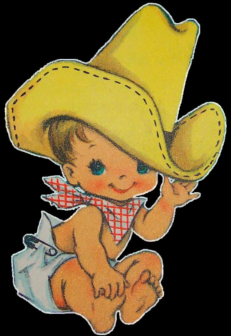 vintage baby cowboy by jeanicebartzen27 on deviantart