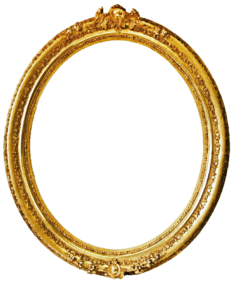 D Ring Antique Gold