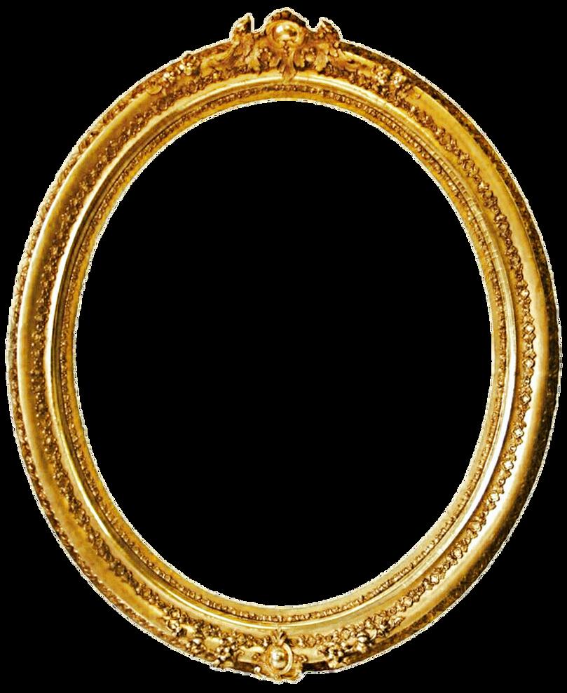 Round Gold Antique Frame by jeanicebartzen27 on DeviantArt