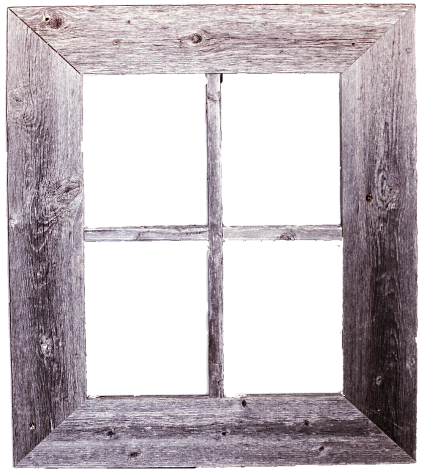 Rustic Window Frame by jeanicebartzen27 on DeviantArt