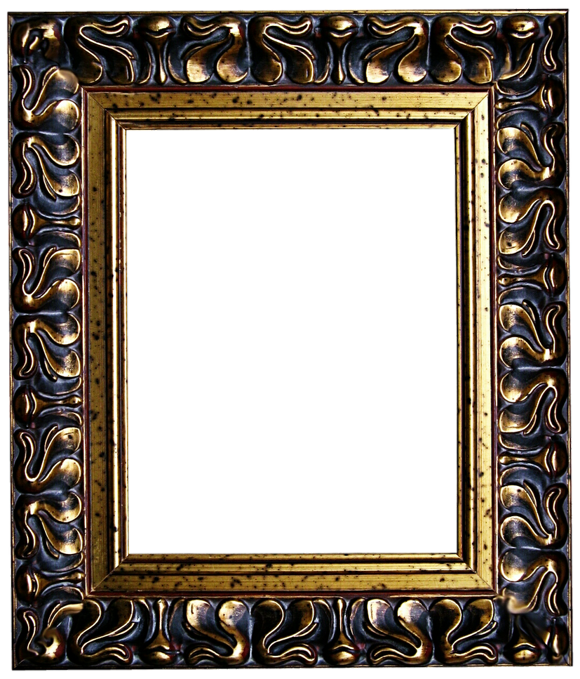 Old wood frame png the image kid has it for Old antique frames