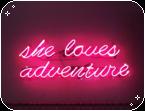 f2u neon pink decor