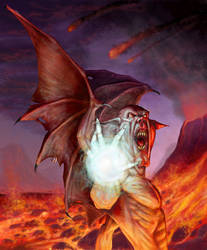 Daemon mage by vakulya
