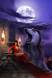 Wolves' night by vakulya