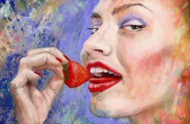 Strawberry by vakulya