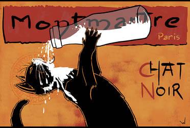 Chat Noir by vakulya