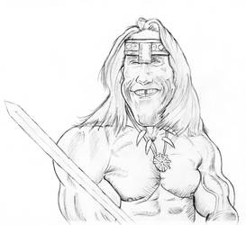 Conan charicature by vakulya