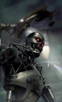 Hunter-killer terminator by vakulya