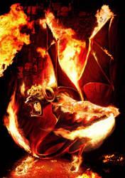 Balrog-The Lord of Elementals by vakulya