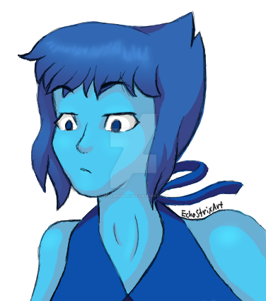 Expression request from over on Tumblr of Lapis from Steven Universe I love the brooding ocean gem