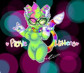 Picklemitten by galaxydrawz