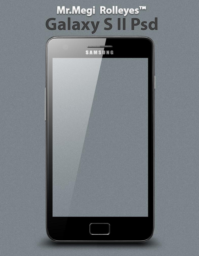 Samsung Galaxy S II PSD by MrMegi