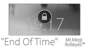 End Of Time WidgetLocker Theme