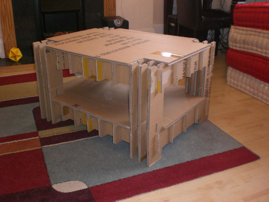cardboard coffee table home design