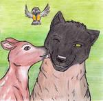 Bambi's Best Friend by Rayhaaja