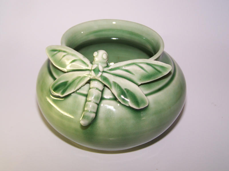 Dragonfly Pot by RenaissanceMan1