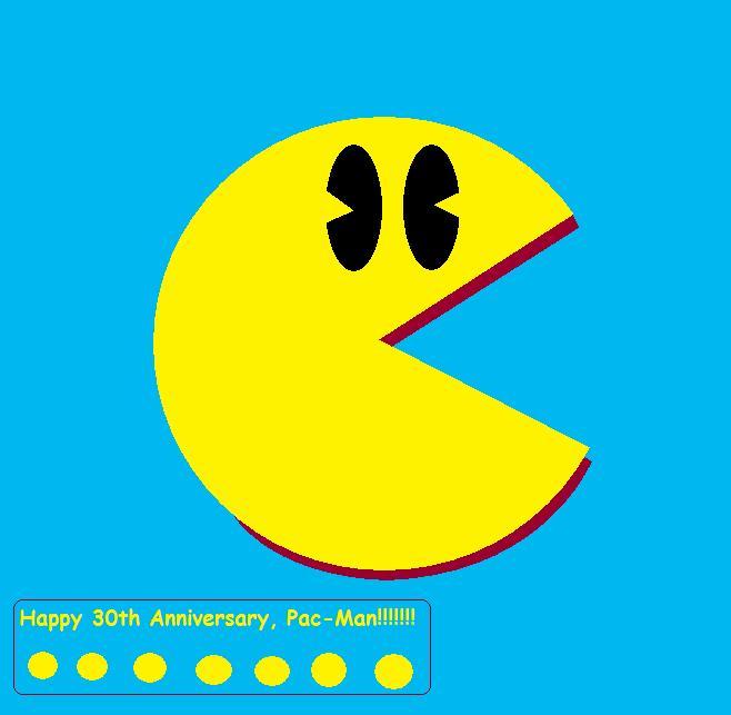 Pac-Man Turns 30 By Baul104 On DeviantArt