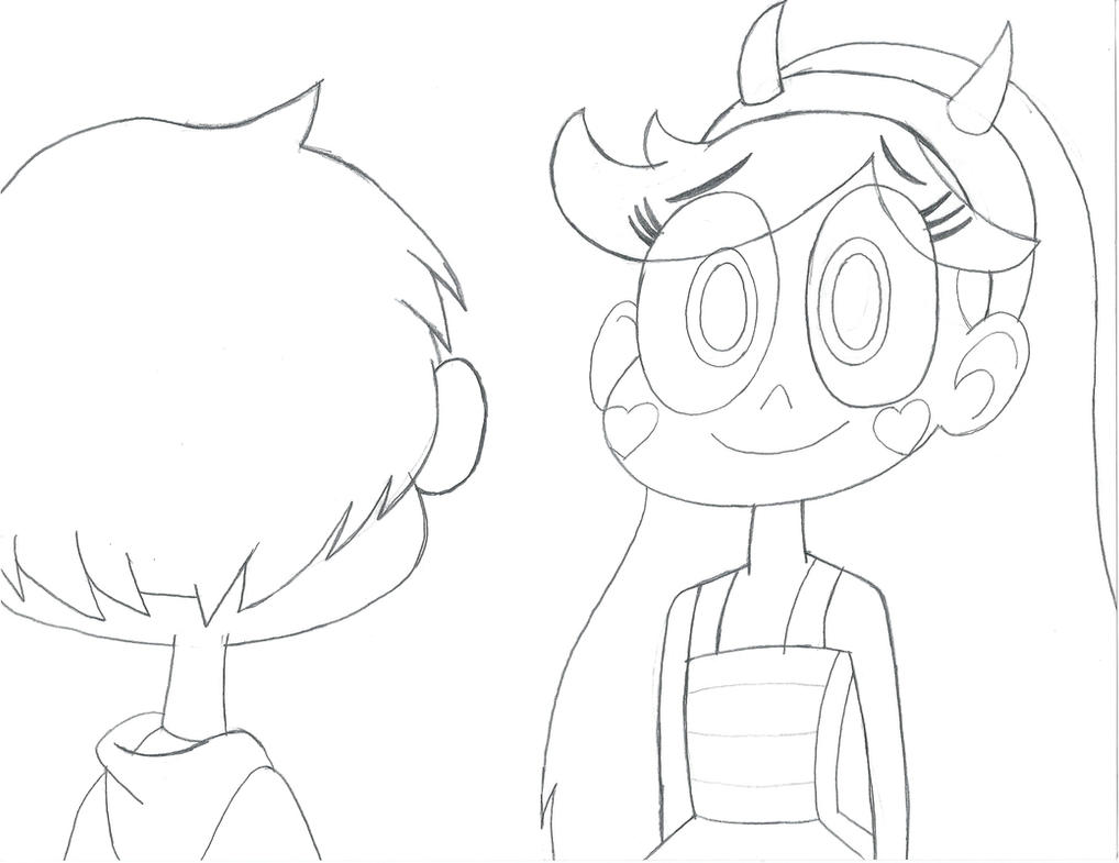 Star and Marco: Face-to-Face by baul104