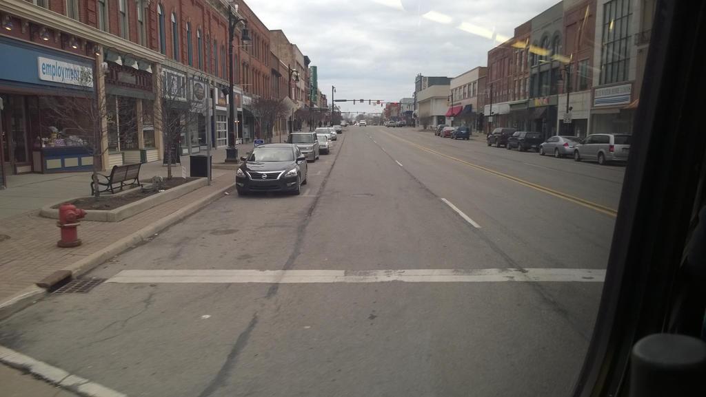 Leaving Port Huron, Michigan by baul104