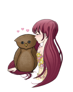 Coco and Owl by Shizoku