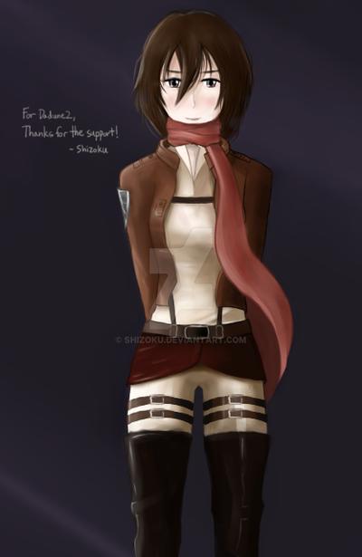 Mikasa by Shizoku
