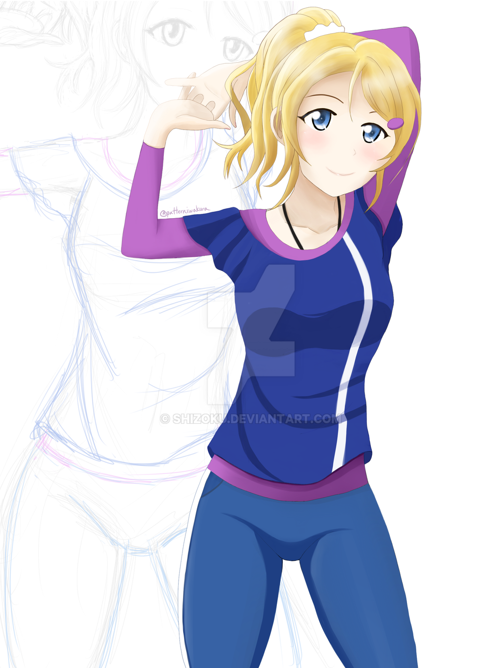 Practicing with Eli by Shizoku
