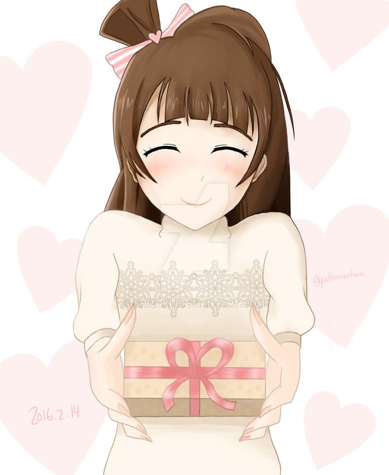 Valentine's Day Kotori by Shizoku