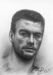 Jean Claude van Damme by RytisX