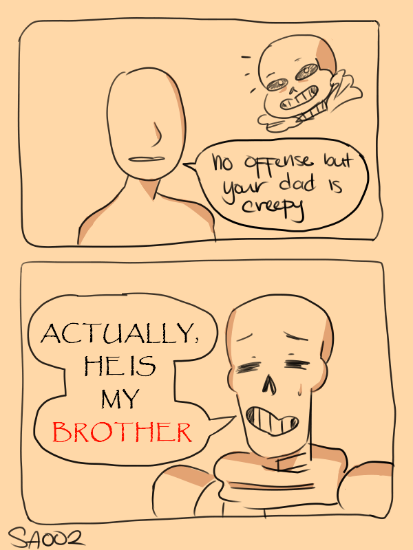 tfw people think ur bro is ur dad by SeiraAxis002