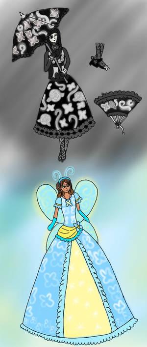 Gemina Lolita Dress And Mia Fairy Costume