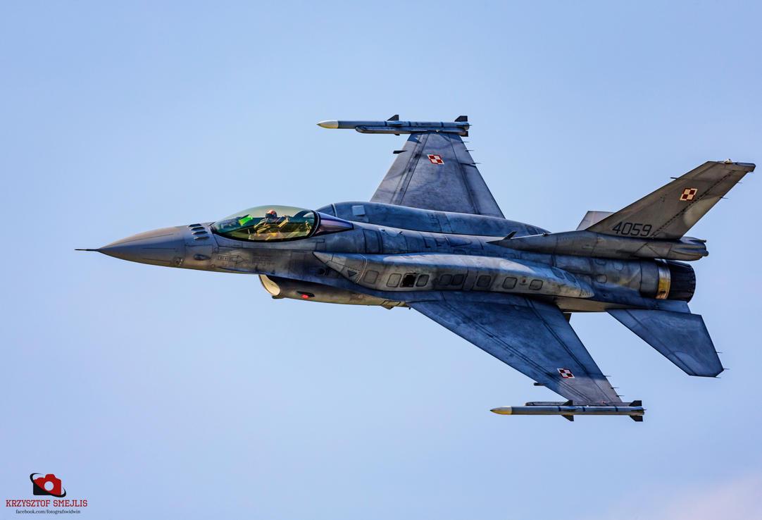 Polish F-16, Swidwin 2016 by KrzysztofSmejlis