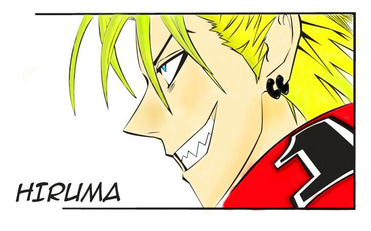 Hiruma Yoichi Eyeshield 21 By Lugia Cyfer