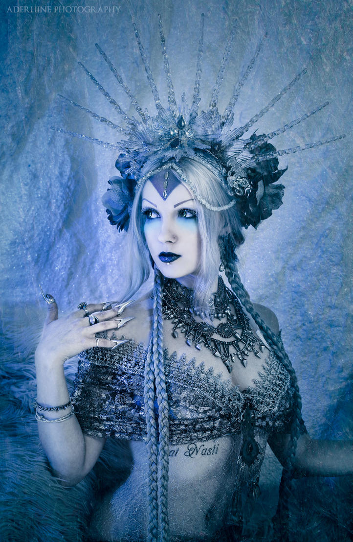 Winter Queen By Nefru Merit On Deviantart