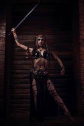 Viking girl by Nefru-Merit