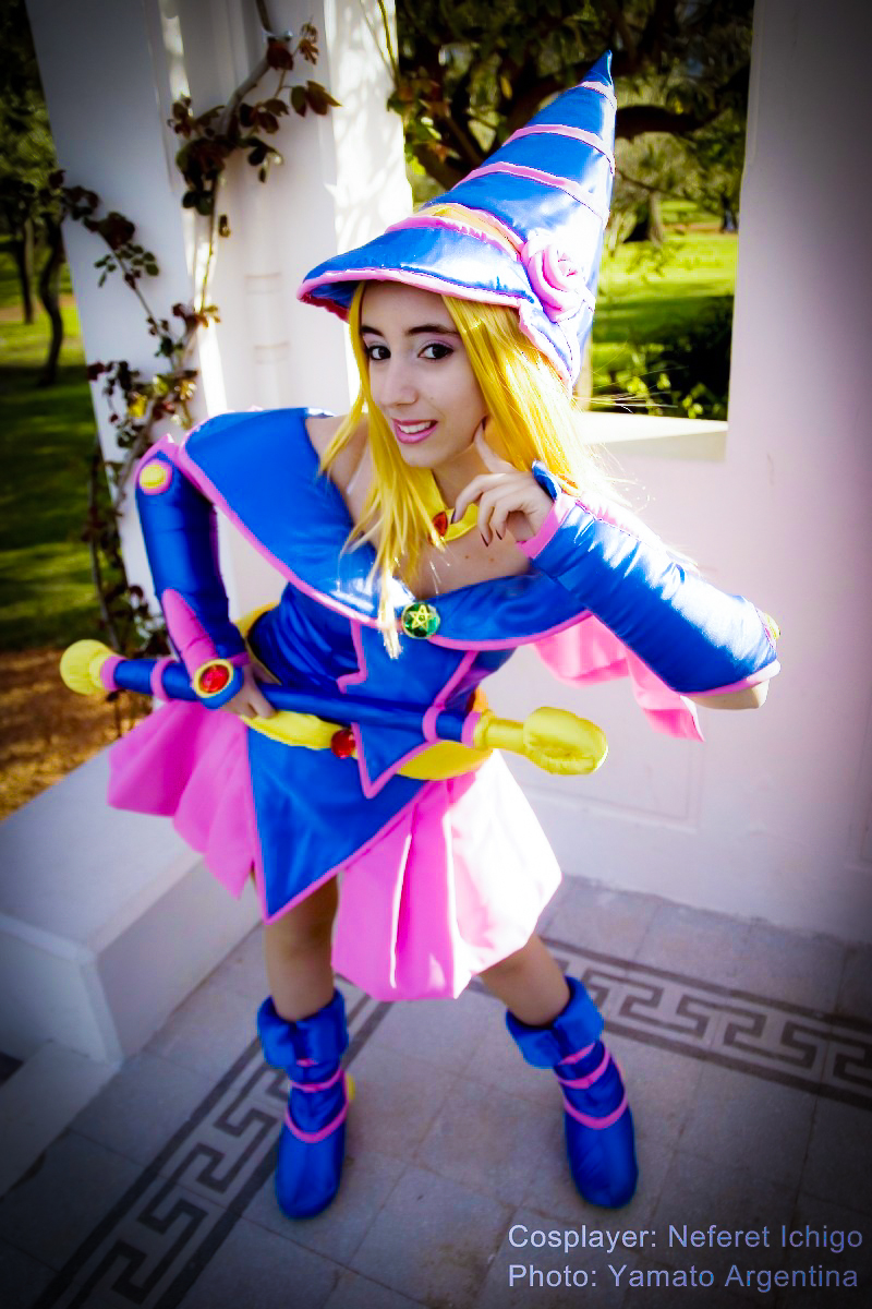 Very talented porn cosplay dark magician girl shall